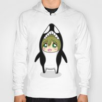 iwatobi Hoodies featuring Free! Onesies - Tachibana Makoto by Tsundere in the Sheets