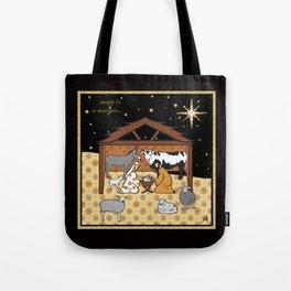 Christmas Nativity - Stable Amanya Design Tote Bag