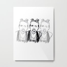 Miley shirt Metal Print