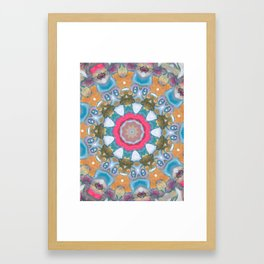Keeping a low profile Framed Art Print