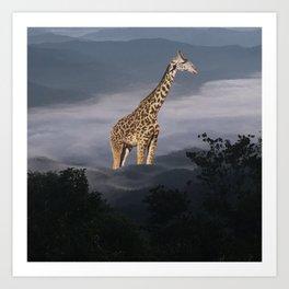 These Unselected —Mr.Giraffe Art Print