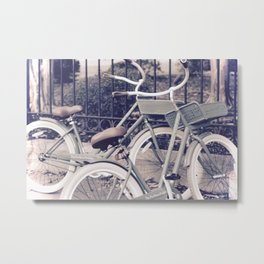 Ride Together Forever Metal Print
