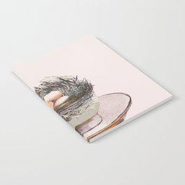 Bird nest in a teacup Notebook