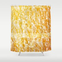 f1 Shower Curtains featuring PP – TEX F1 by Carlos Coutinho