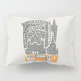 Glasgow Cityscape Pillow Sham