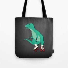 Tyrollersaurus Rex Tote Bag