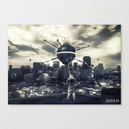 Poster - Watchers Canvas Print