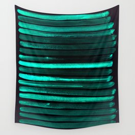 We Have Cold Winter Teal Dreams At Night Wall Tapestry