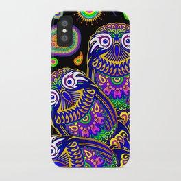Owl Mandala iPhone Case
