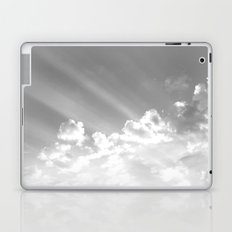 Cotton clouds and sunrays Laptop & iPad Skin