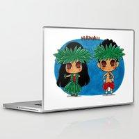 hawaii Laptop & iPad Skins featuring Hawaii by sakurajoker