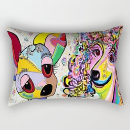 Playful Pups Rectangular Pillow