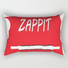 Zappit Pow it pop poster Rectangular Pillow