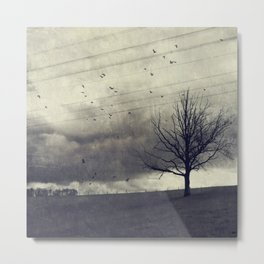 one of these days - autumn mood Metal Print