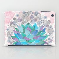 succulent iPad Cases featuring succulent by Asja Boros