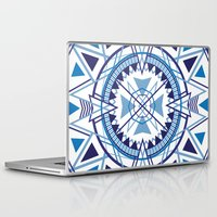 compass Laptop & iPad Skins featuring Compass by Christie Evenson
