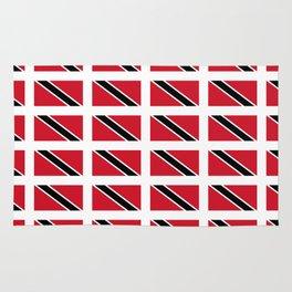 flag of trinidad and Tobago -Trinidad,Tobago,Trinidadian,Tobagonian,Trini,Chaguanas. Rug