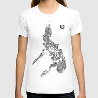 philippines T-shirts featuring Paranormal Philippines (white) by Rev Cruz