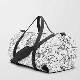 Amorphous Tree Duffle Bag