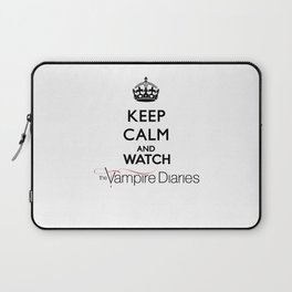 Keep Calm And Watch The Vampire Diaries Laptop Sleeve