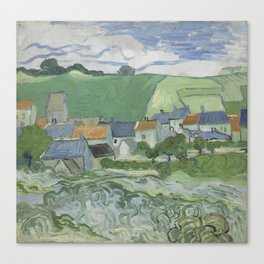 View of Auvers Canvas Print