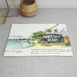 Calico Jack's, Grand Cayman (with notes) Rug
