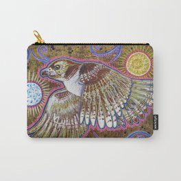 Soaring (Red-Tailed Hawk Painting) Carry-All Pouch