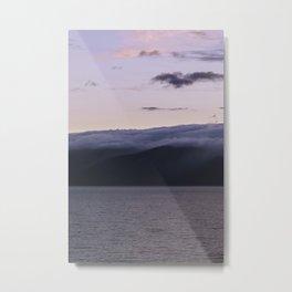 Sunset over Lake Baikal. Metal Print