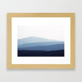 Hilltowns Framed Art Print