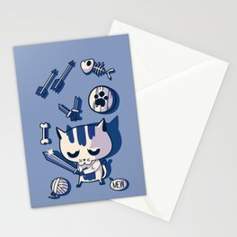 Cat the Conqueror Stationery Cards