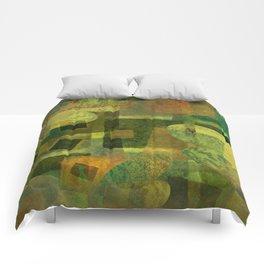 Dorado Verdiso and Butterfly Comforters