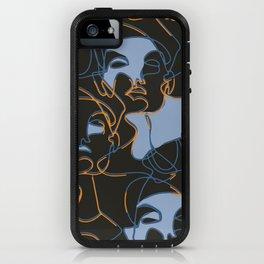 Elle in Black iPhone Case