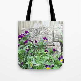Mice - Garden Creatures Series Tote Bag