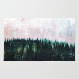 Deep dark forests Rug