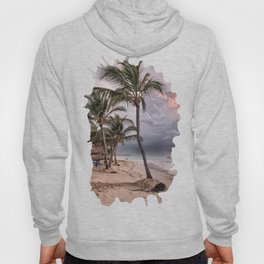 Cloudy Day on the Beach Hoody