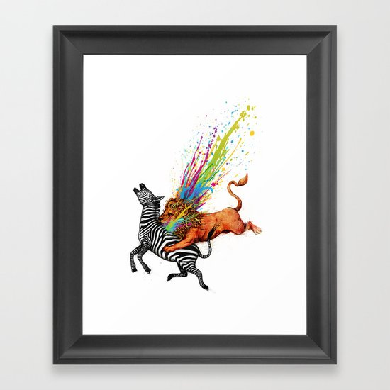 Kill Monotony Framed Art Print