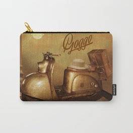 Goggo scooter from the 50s Carry-All Pouch
