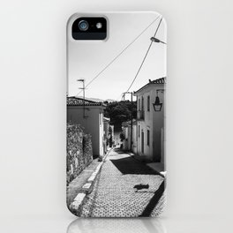 Traveling inspiration Black and White Photography iPhone Case