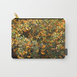 Orange Berries Carry-All Pouch