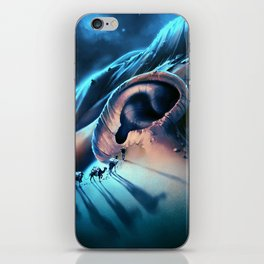 I want to talk to you iPhone Skin