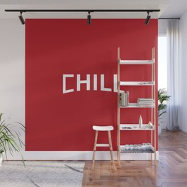 Red Chill Wall Mural