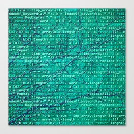 code_forest Canvas Print