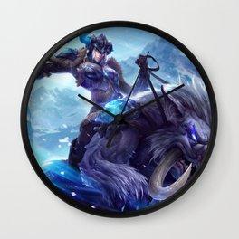 Classic Sejuani League Of Legends Wall Clock