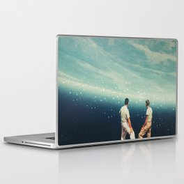 The Earth was crying and We were there Laptop & iPad Skin