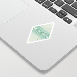 Parallel Waves Sticker