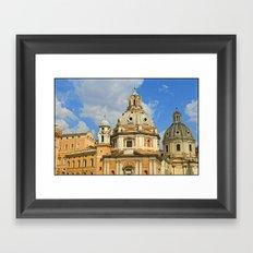 Roman Architecture Framed Art Print