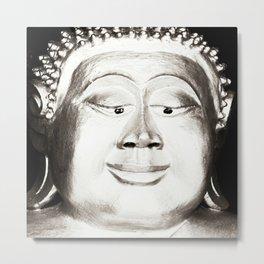 Esotropic Buddha Metal Print