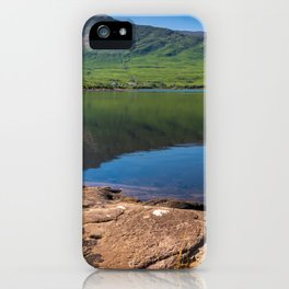 Killary Harbour fjord in Northern Connemara, Ireland iPhone Case