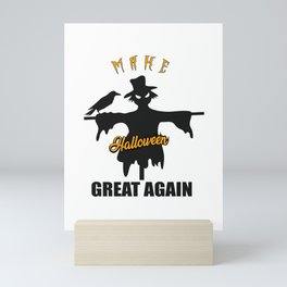 Make Halloween Great Again Mini Art Print