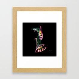 Egyptian Dog Framed Art Print